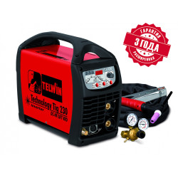 Сварочный аппарат TELWIN TECHNOLOGY TIG 230 DC-HF/LIFT 230V +ACC / 852055